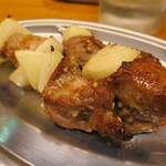 立ち呑み しゅう - シシカバブ串焼き
