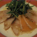 Bar MICHIya - この日のお魚のカルパッチョ盛り合わせ