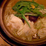 hakatahisago - 生ゆばと白ねぎの水餃子