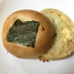 福ベーグル - めんたいチーズ 断面