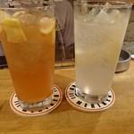 ロテヤキ。酒場。メリケン - ほろ苦レモンサワー、フレッシュレモンサワー