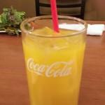 個室 チーズと肉 ホッカイファーム - オレンジジュース(2018.04.14)