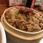 中国料理 珍満 - ハーフ丼セットのウルトラちゃん