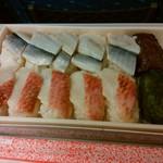 箱根の市 - 「炙り金目鯛と小鯵押し寿司」