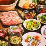 居酒屋 ちゅーりっぷと鯱 - 銘々盛のコース料理