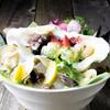 旬の貝の6種食べ比べ 自家製牡蠣醤油を添えて 2人前より