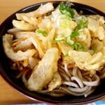 小野田そば屋 - かき揚げ蕎麦