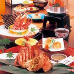 北海道かに将軍 - 料理写真:活毛かに祭り「蟹旬」
