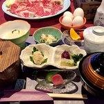 スパ&ゴルフリゾート久慈 - すき焼き御膳