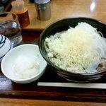 阿さま - 冷やしたぬき蕎麦と大根おろし