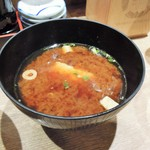 高木鮮魚店 - お味噌汁