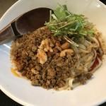 84240512 - 汁なし担々麵の「シビれる」(麺100gに変更)。