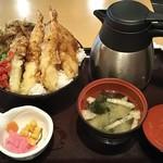 84240925 - カレー天茶丼 880円 ♪