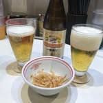蒙古タンメン中本 - たぶんノンアルコールビール