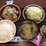 ラフィン - 鶏ポン酢炒め定食