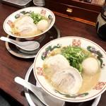 福ヤ - 料理写真:半熟味付玉子ラーメン ¥830