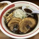 札幌らーめん Tunatori - 醤油¥780+チャーシュー1枚増し¥100+チャーシュー丼¥100
