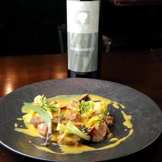 イタリア郷土料理と地ワインのペアリングをご紹介します!
