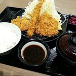 さぼてんエクスプレス 新さっぽろカテプリ店 - さぼてん定食。1069円。