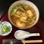84249192 - わさびおろし海老天蕎麦(温) \1380
