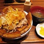 豚料理専門店 銀呈 - 贅沢 ぶた丼