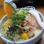 そば処 安澄 - 名物の冷やし納豆★ 1100円