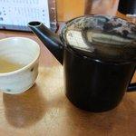 そば処 安澄 - お茶として蕎麦湯がでます