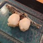日本料理四四A2 - 稚鮎とホワイトアスパラの天ぷら