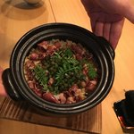 日本料理四四A2 - 蛍烏賊の土鍋ご飯