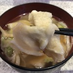 回転寿司 鮨市 - せんべい汁