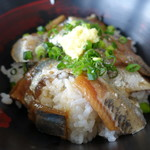 田子の浦港 漁協食堂 - 親丼(イワシ)