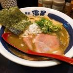 麺匠 濱星 - 濃厚煮干しそば(鶏白湯)750円