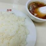 永新 - ライス&スープ