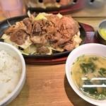 Oosakayakinikuhorumonfutago - カルビ定食