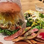 VEGAN BURG Kitchen - モアベジバーグ+セット