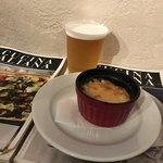 トラットリア パッパ - ビールとショートパスタのグラタン