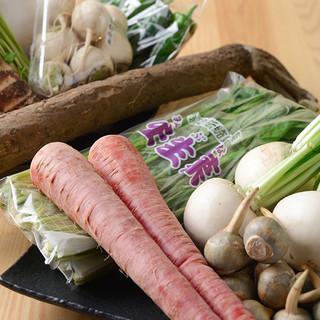 旬の京野菜を使った一品や、日替わりメニューもご用意◇