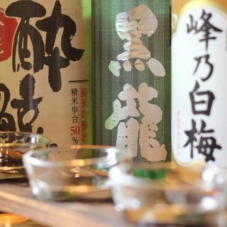 ◇春夏秋冬◇季節に合った日本酒は、お食事とご一緒に○
