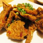 桂林米粉 山水家 - 桂林風押し豆腐。
