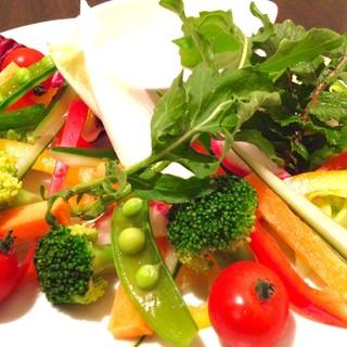 シェフ厳選!新鮮な有機野菜