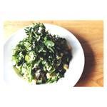わかば堂 - クレソンのグリーンサラダ