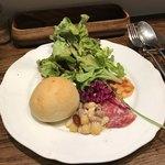 ビストロ ル マリアージュ - 料理写真:パスタランチの前菜