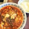 梨花園 - 料理写真:テグタン麺+小ライス