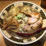 すごい煮干ラーメン凪 - 「こってり煮干 細麺」820円