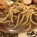 すごい煮干ラーメン凪 - 細麺が選べるようになりました