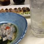 吉や - 酎ハイ&牡蠣酢