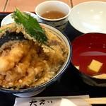 天えい - 天丼(大盛り)