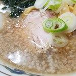 光陽楼 - 料理写真:背脂とニンニクの北海ラーメン