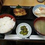 新蔵 - 今月の定食鰆の西京焼き