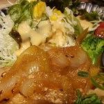 九州焼肉 てにをは - しょうが焼きは玉ねぎが多い